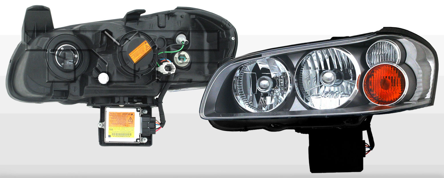 Headlights Nissan Maxima 2002